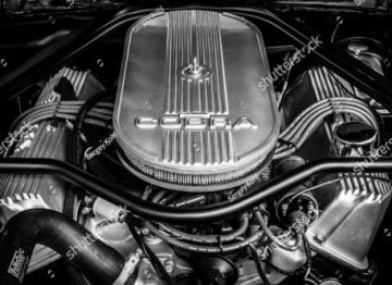 stock-photo-berlin-june-engine-of-the-ford-shelby-mustang-gt-eleanor-close-up-black-and-white-673366138